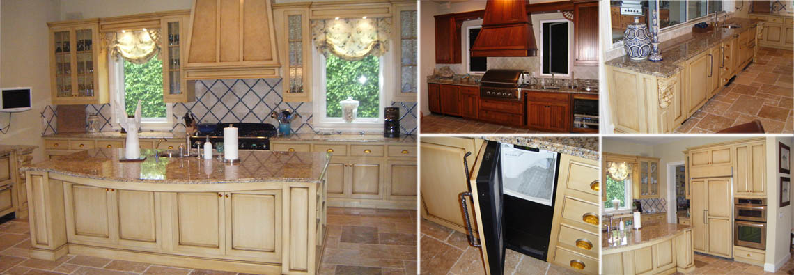 Daugherty Showcase Custom Solid Hardwood Cabinets