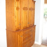 Solid Hardwood TV Armoire