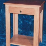 Solid Oak & Cherry Night Stand