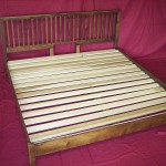 Solid Maple Shaker Bed