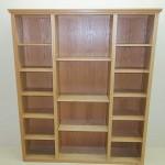 Solid Oak Hardwood Bookshelf