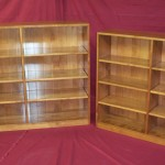Solid Hardwood Bookshelves