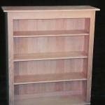 Solid Oak Country Bookshelf