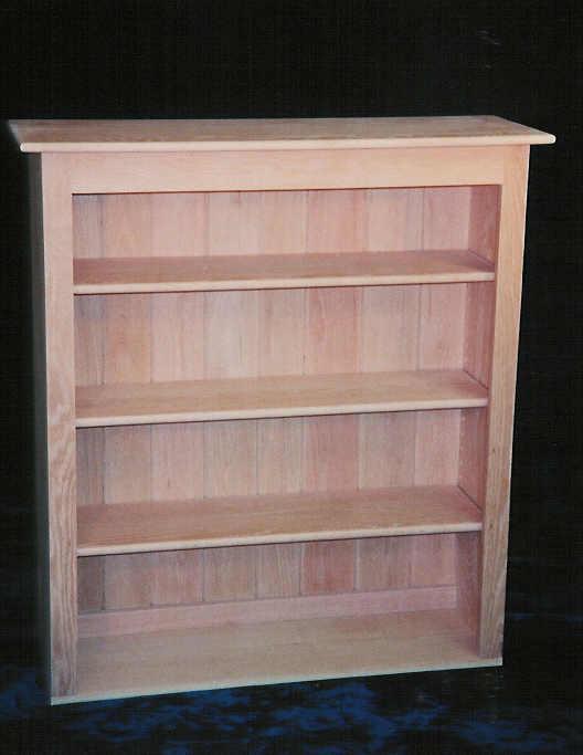Solid Oak Country Style Bookshelf
