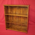 Solid Maple Hardwood Knockdown Bookcase