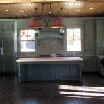 Solid American Hardwood Cabin Kitchen