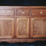 Solid Red Oak Buffet