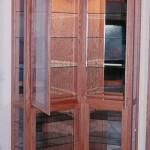 Solid American Oak Hardwood Curio