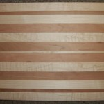 Solid American Maple & Cherry Cutting Board