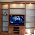 Solid Maple Hardwood TV Cabinet