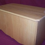 Solid Red Oak Hope Chest