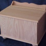 Solid Red Oak Country Hope Chest