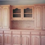 Solid Red Oak Hutch