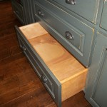 Solid Wood Island Drawer