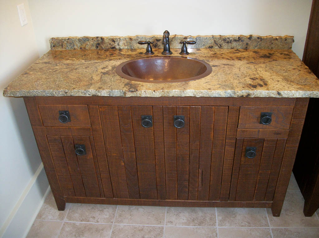 Custom Bathroom Cabinets Charles R Bailey Cabinetmakers