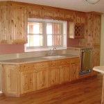 Solid American Knotty Alder Kitchen