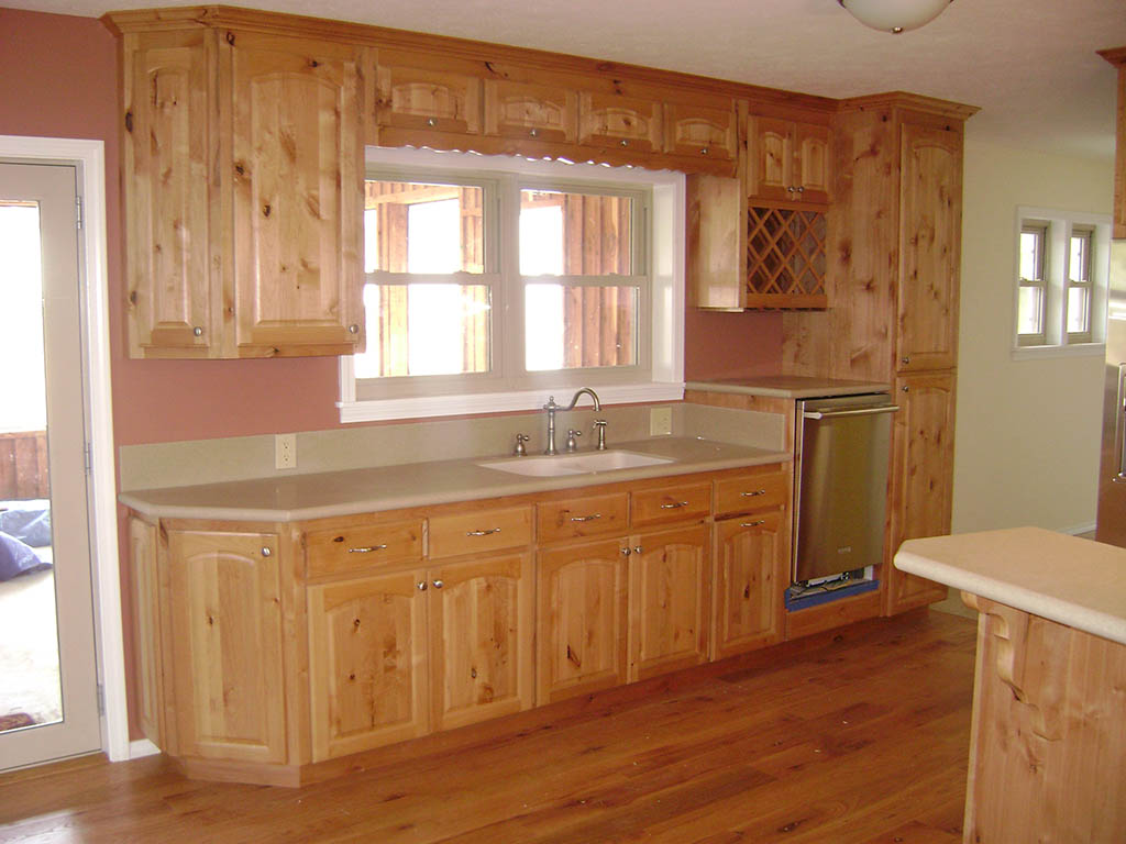 Solid American Knotty Alder Kitchen Charles R Bailey