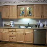 Solid American Oak Hardwood Kitchen