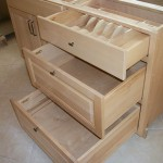 Solid Maple Drawer Bank