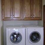 Solid Red Oak Utility Cabinets
