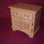 Solid Ash Hardwood Night Stand