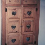 Solid Wood Country Pie Safe