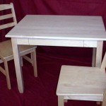 Solid Maple Shaker Table