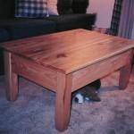 Solid Hickory Hardwood Coffee Table