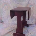 Solid Hardwood Drop Leaf Table
