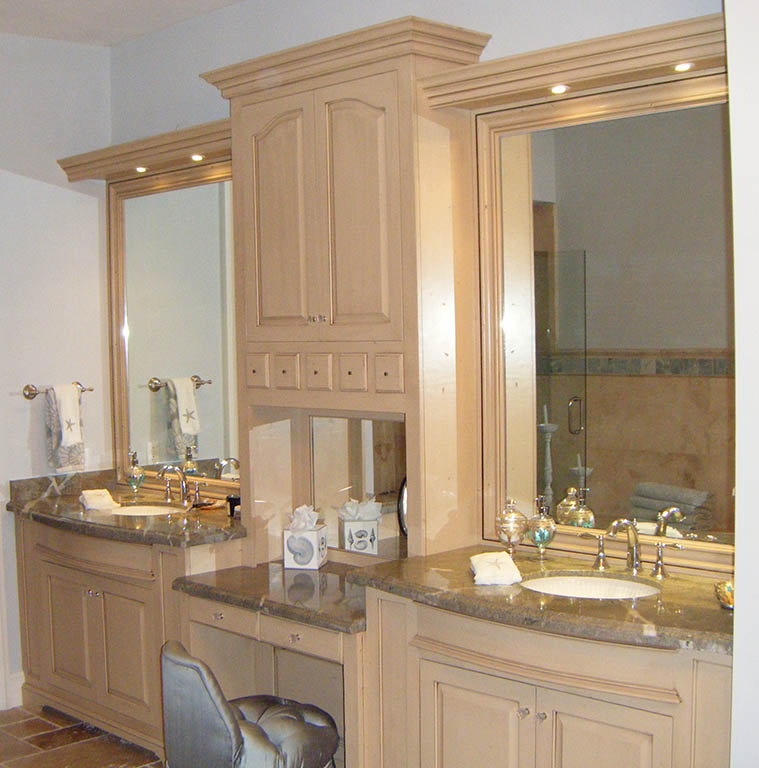 custom bathroom cabinets charles r bailey cabinetmakers handcrafted solid wood. Black Bedroom Furniture Sets. Home Design Ideas