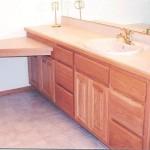 American Red Oak Hardwood Vanity