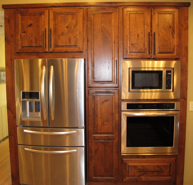Refrigerator Amp Oven Built In Charles R Bailey Cabinetmakers