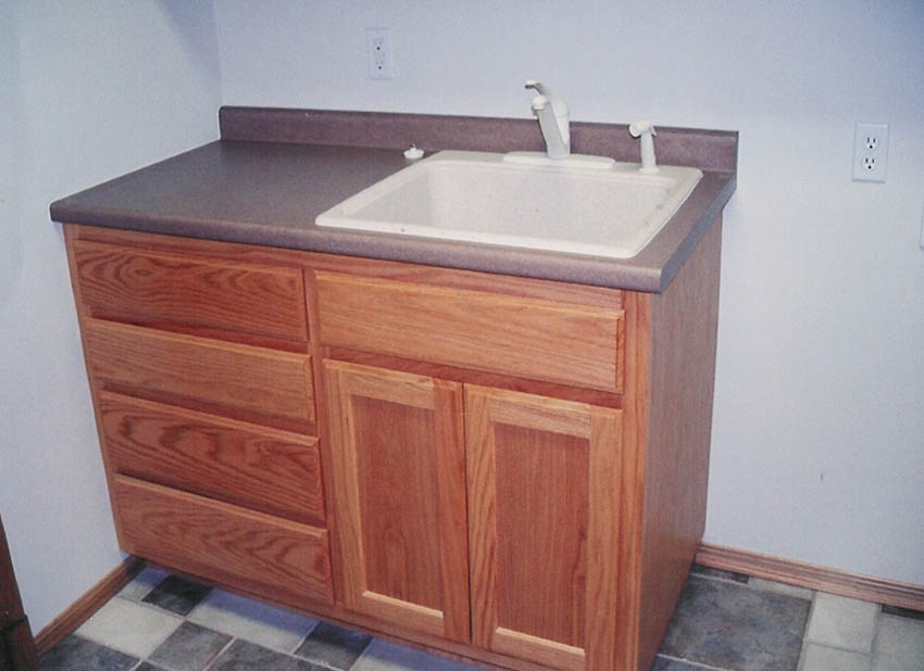 custom utility and laundry room cabinets | charles r. bailey