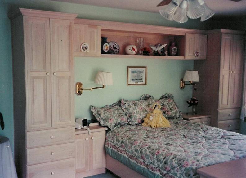 Custom Bedroom Cabinets & Furniture | Charles R. Bailey ...