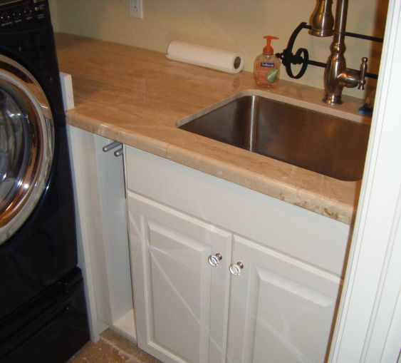 Custom Utility And Laundry Room Cabinets Charles R