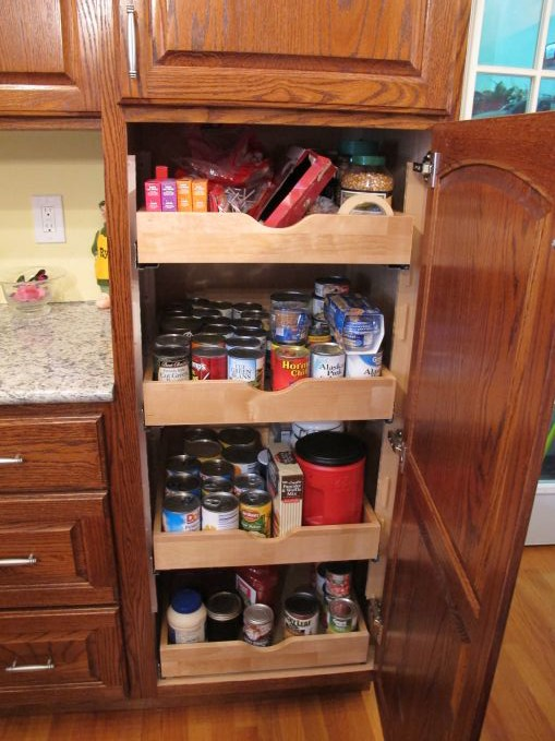 Lower Pantry Cabinet - Charles R. Bailey Cabinetmakers
